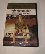 Lost in Translation (2003, Dvd) *Sealed* *Free Shipping*