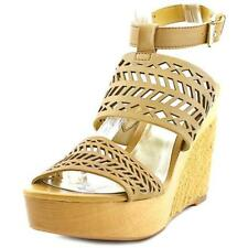 Sandalias con tiras de mujer Ralph Lauren color principal beige