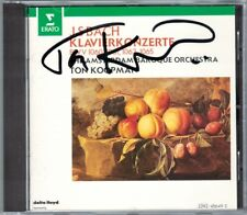 Ton KOOPMAN Signiert BACH Concerto for 2 4 Harpsichords BWV 1060-62 Tini MATHOT
