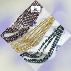 Factory Pack Swarovski Crystal Pearl #5810 Round Beads 4mm 500pcs Pick colors
