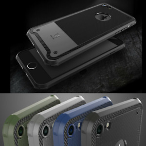 Genuine BASEUS Shield Shockproof Silicone Case Cover for Apple iPhone 7 / 7 Plus