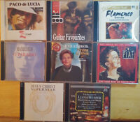 Lot of 8 CDs
