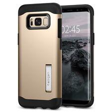 Express Galaxy S8 Case Spigen Slim Armor Cover for Samsung Gold Maple