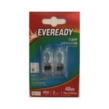 10x G9 40w Eveready Warm White DIMMABLE bulbs Watt 240V Clear (5 Twin Packs)