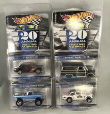 2020 Hot Wheels 20th Nationals Convention 4-car Set Gasser Dodge GMC Datsun 510