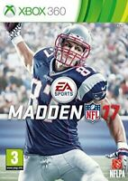NFL Madden 17 Xbox 360 - Brand New - Free Shipping
