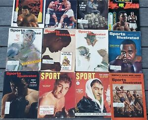 Boxing Collection of 11 Vtg Sports Illustrated Mags Muhammed Ali Sonny Liston