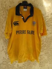 Maillot rugby CASTRES OLYMPIQUE vintage training shirt porté n°19 CANTERBURY XXL