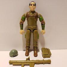 G.I. Joe ARAH 1982-83 ZAP Bazooka Soldier Complete Action Figure SUPER NICE++!!!