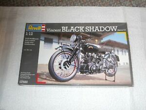 Revell VINCENT Black Shadow 1:12 Scale Model kit cycle US Seller  NEW