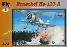 HENSCHEL HS-129 A, GERMAN LIGHT BOMBER (SPECIAL SCHEME),FLY 72008,SCALE 1/72