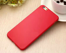 Ultra Thin Candy TPU Silicone Rubber Soft Case Cover For iPhone SE 5S 5C 6S Plus