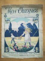mon ouvrage N°132 - 1928 - mode vintage