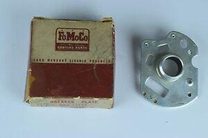 NOS 1949 50 51 52 53 Ford Flathead V8 Distributor Breaker Plate 0BA-12151