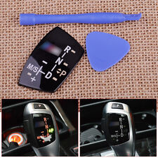 Gear Shift Knob Panel Sticker LHD models AT for  BMW //M E82 E90 E60 F10 F30 F34