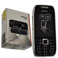 BNIB Nokia E75-1 Silver/Black 50MB QWERTY UK Factory Unlocked 3G 2G GSM New