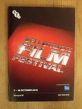 BFI LONDON FILM FESTIVAL 2015 112-PAGE COLOUR PROGRAMME MINT OSCARS