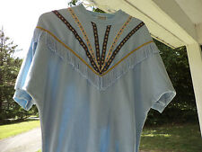 1970s True Vintage ORIGINAL TOP TASSELS by Stepping Up Made in the USA Sz L PROP