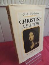 CHRISTINE DE SUEDE O. de Wertheimer