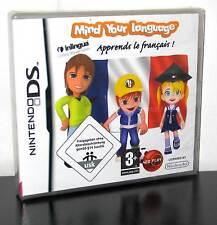 MIND YOUR LANGUAGE IMPARO IL FRANCESE GIOCO NUOVO DS E 3DS ED ITALIANA PG614