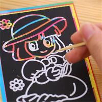 10pc 9.5 * 13CM enfants dessinent des jouets éducatifs peints