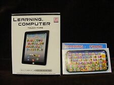 NIB Tablet & Phone Toy English Learning Educational Play Machine Combo  Pack