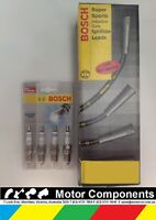 SPARK PLUGS & LEADS BOSCH for HOLDEN APOLLO JK for TOYOTA CAMRY  SV22 3SF-C