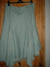 Per Una Calf Length Plus Size Asymmetrical Skirts for Women