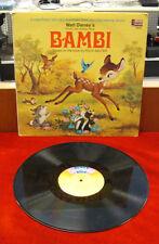 LP Record - Disney's Story of Bambi / Disney's 3903 - 1969