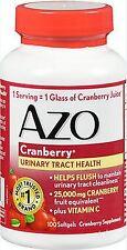 AZO Cranberry, Maximum Strength, Softgels 100 ea  PHARMACY FRESH!!