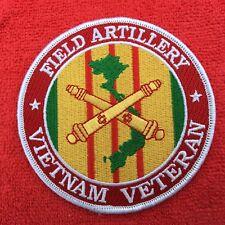 FIELD ARTILLERY VIETNAM VETERAN PATCH