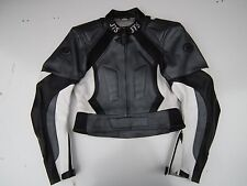 "Womens JTS Armoured Motorcycle motorbike Grey/Black/White Jacket UK10"" EUR 36"