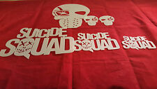 DEADSHOOT SUICIDE GROUP YOUTH ADULT T SHIRT HAT AIRBRUSH STENCILS SET OF 6