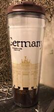 Starbucks Germany Global Icon 12 oz Travel TUMBLER Mug Cup NEW