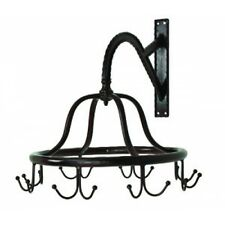Commercial Wall Mounted Victorian Spinning Rack for Clothes or Towels Old Style