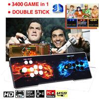 3400 in 1 Pandora-s Games 3D / 2D Classic Retro Video Gaming Kits For Desktop TV