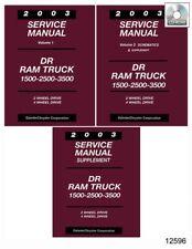 2005 dodge dr srt 10 ram truck 1500 2500 3500 including diesel service repair manual download