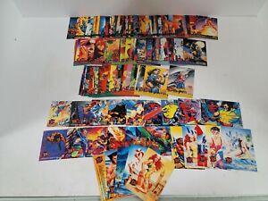 1995 Fleer Ultra X-Men Complete 150 Card Set With Spring Break Insert Set MINT