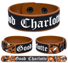 Good Charlotte Rubber bracelet Wristband Good Morning Revival Cardiology