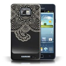 STUFF4 Case/Cover for Samsung Galaxy S2/SII/Henna Tattoo/Flower