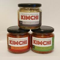 UK Made Kimchi x3 Mix Flavour. 2* Great Taste Award - AuthenticKoreanRecipe