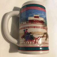 Vintage Miller High Life Holiday Beer Stein Mug 1985 Christmas Limited Edition