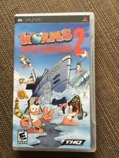 Worms: Open Warfare 2 (Sony PSP, 2007) FREE SHIPPING