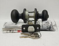 Kwikset Keyed Entry SmartKey Satin Nickel Circa Knob 97409-266
