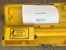 Schonstedt Instrument Company Heliflux Magnetic Locator Model Ga-52Cx With Case.