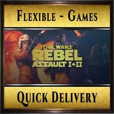 STAR WARS: Rebel Assault I + II [1+2] - Steam CD-Key Digital [PC] Fast Delivery