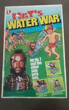Vintage Mr. T's Water War #8410 w/ Original Box  ~ 1983 Lakeside