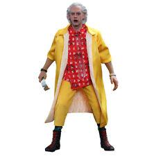"""RITORNO AL FUTURO Back to the Future Emmett Brown 1/6 Action Figure 12"""" Hot Toys"""