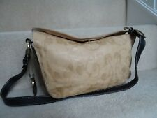 PICARD BROWN TAN LEATHER SHOULDER BAG USED A FEW TIMES IN VERY GOOD CONDITION