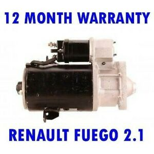 For RENAULT FUEGO 2.1 COUPE 1982 1983 1984 1985 RMFD STARTER MOTOR